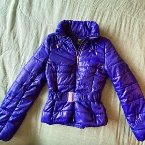 🌷 Purple Down Coat NWOT